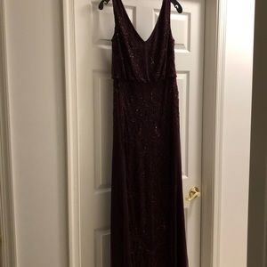 Adrianna Papell Beaded Gown NWT